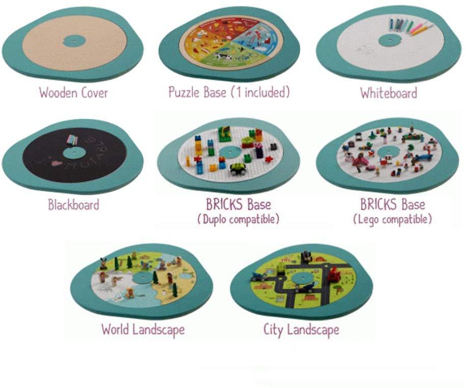 MUtable, opiniones sobre la mesa multijuego para niños de 1 a 8 años 1