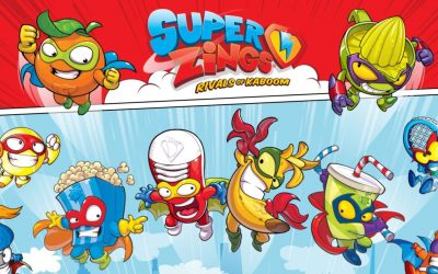 Super Zings, series de la 1 a la 5