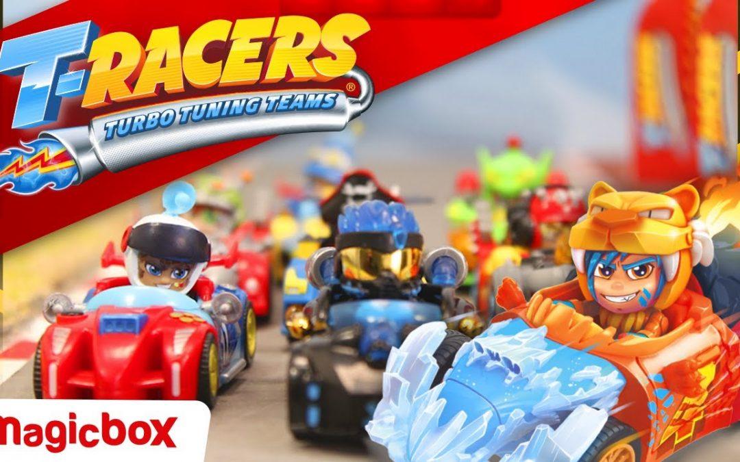¿Qué son los T-racers? Los nuevos vehículos mix and macth para coleccionar de Magic Box