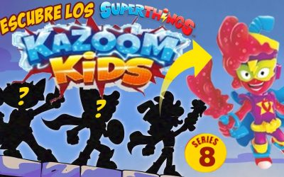 SuperThings Kazoom Kids, todo sobre la nueva serie 8 de los SuperZings